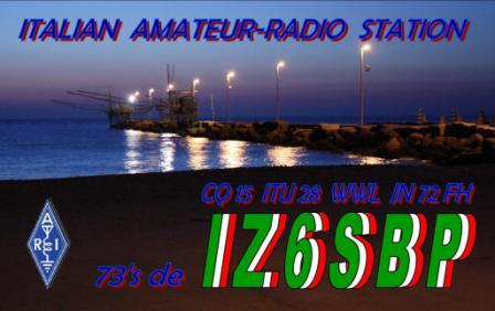 QSL image for IZ6SBP