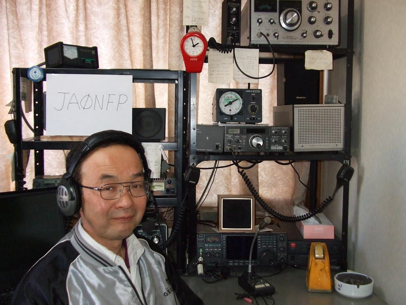 QSL image for JA0NFP