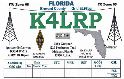 QSL image for K4LRP