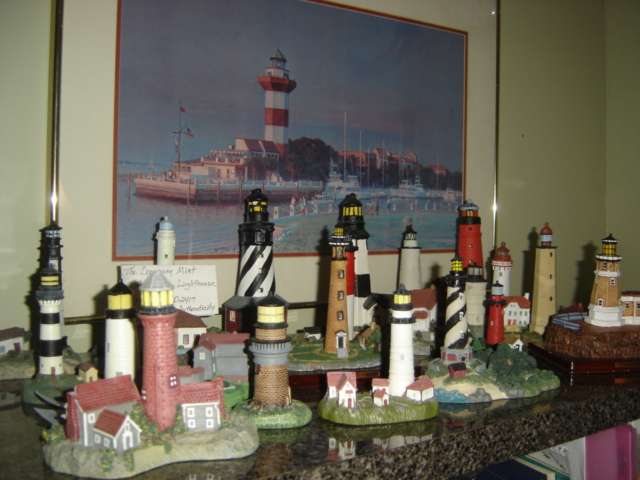 PART OF MY LIGHTHOUSE COLLECTION