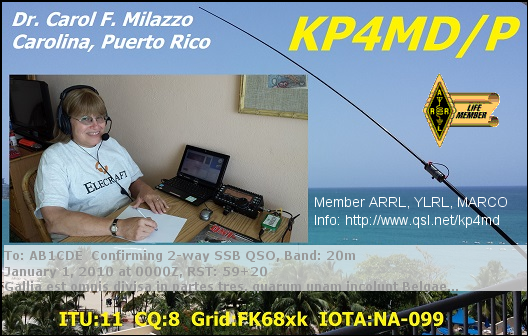 KP4MD/P Portable in Puerto Rico 2016