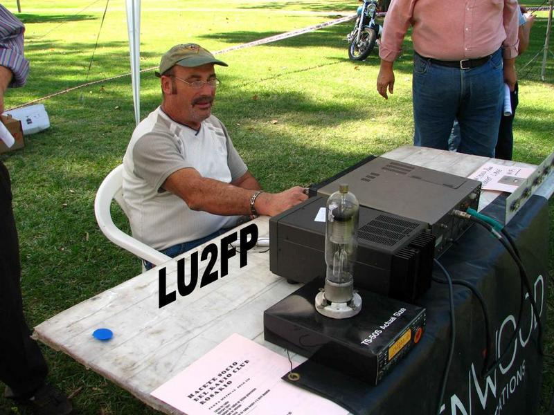 QSL image for LU2FP
