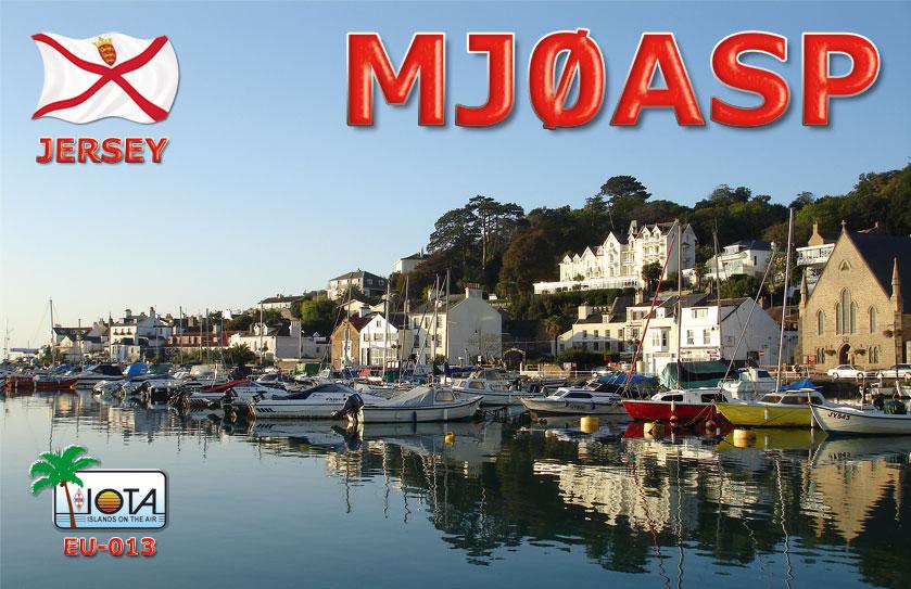 QSL image for MJ0ASP