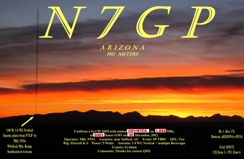 QSL image for N7GP