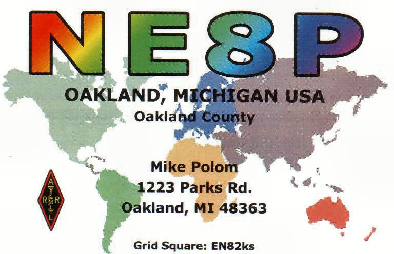 QSL image for NE8P