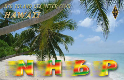 QSL image for NH6P