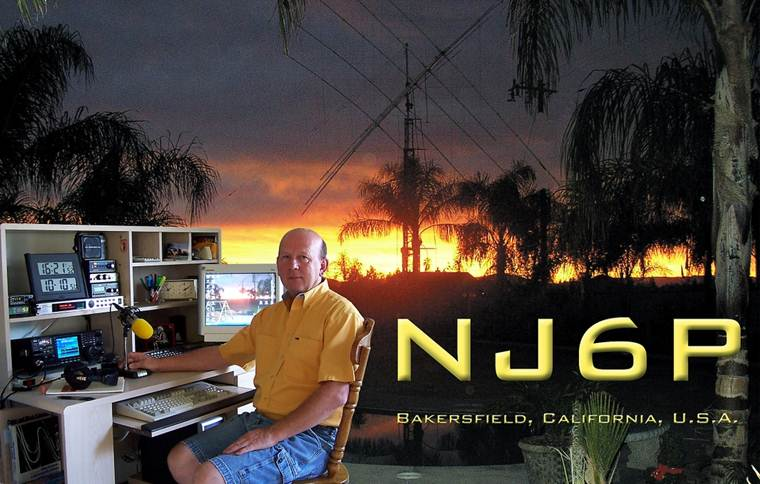 QSL image for NJ6P