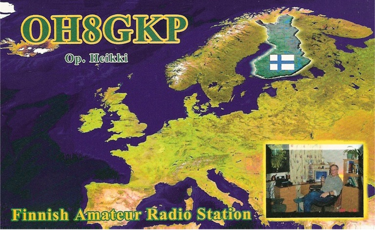 QSL image for OH8GKP