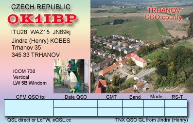 QSL image for OK1IBP