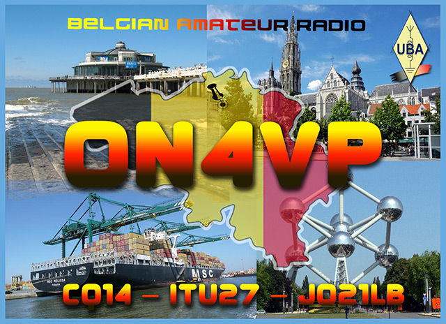 QSL image for ON4VP
