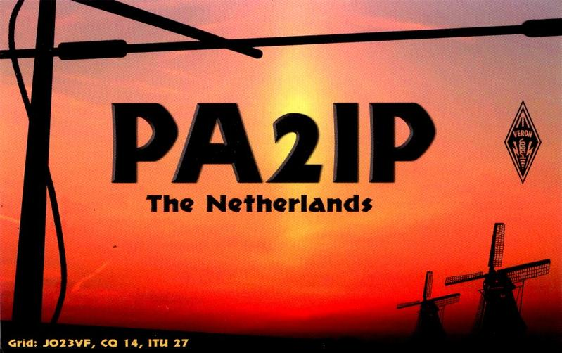 QSL image for PA2IP