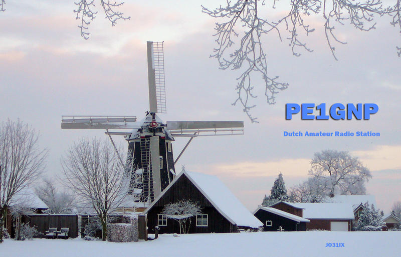 QSL image for PE1GNP