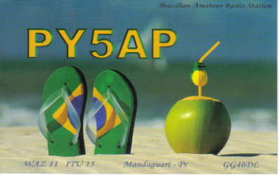 QSL image for PY5AP