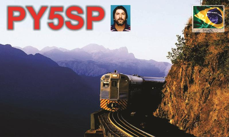 QSL image for PY5SP