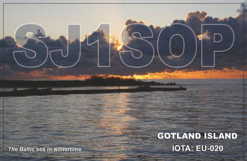 QSL image for SJ1SOP