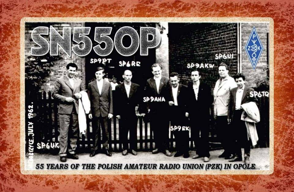 QSL image for SN55OP