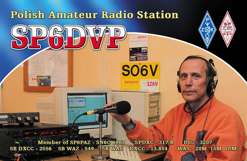 QSL image for SP6DVP