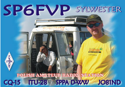 QSL image for SP6FVP