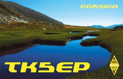 QSL image for TK5EP