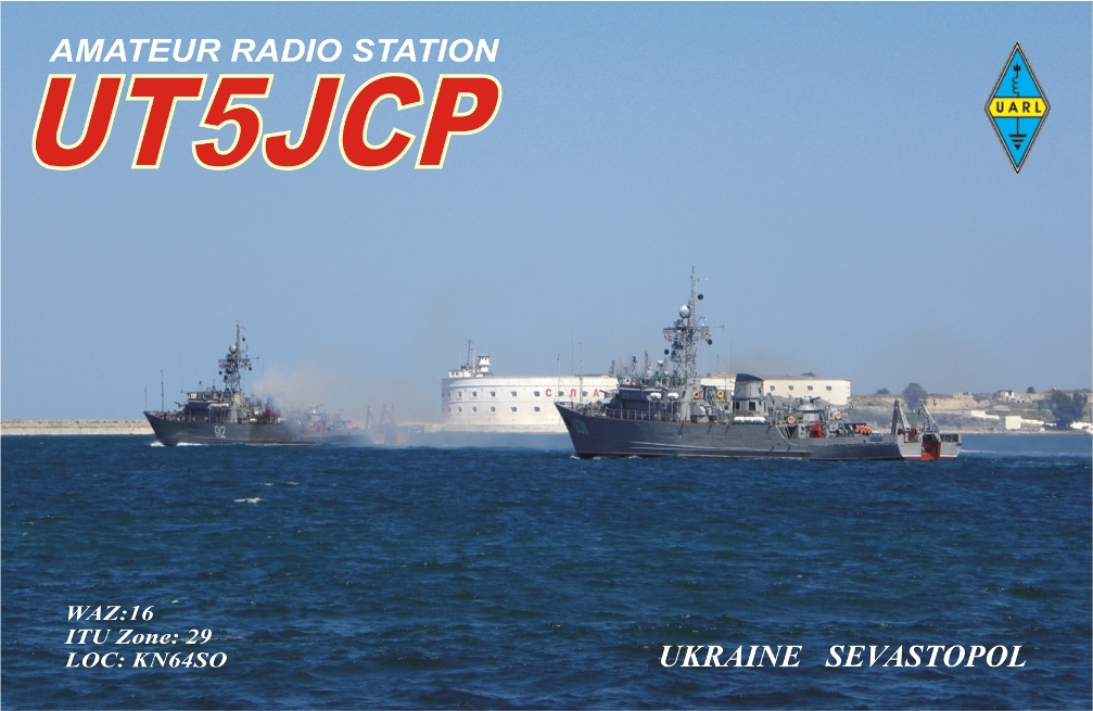 QSL image for UT5JCP