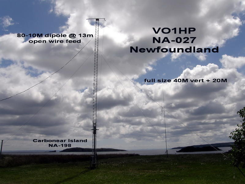 QSL image for VO1HP