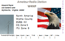 QSL image for W4NP