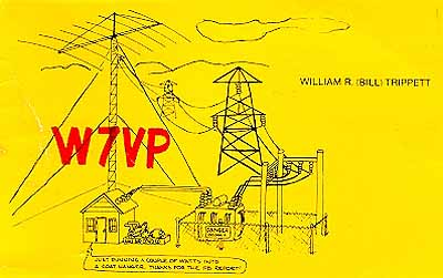 QSL image for W7VP
