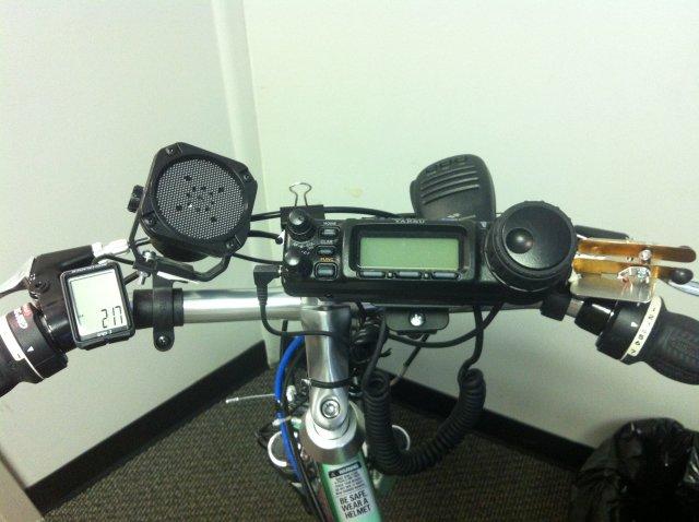 Bike handlebar gear
