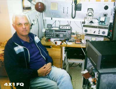 QSL image for 4X1FQ