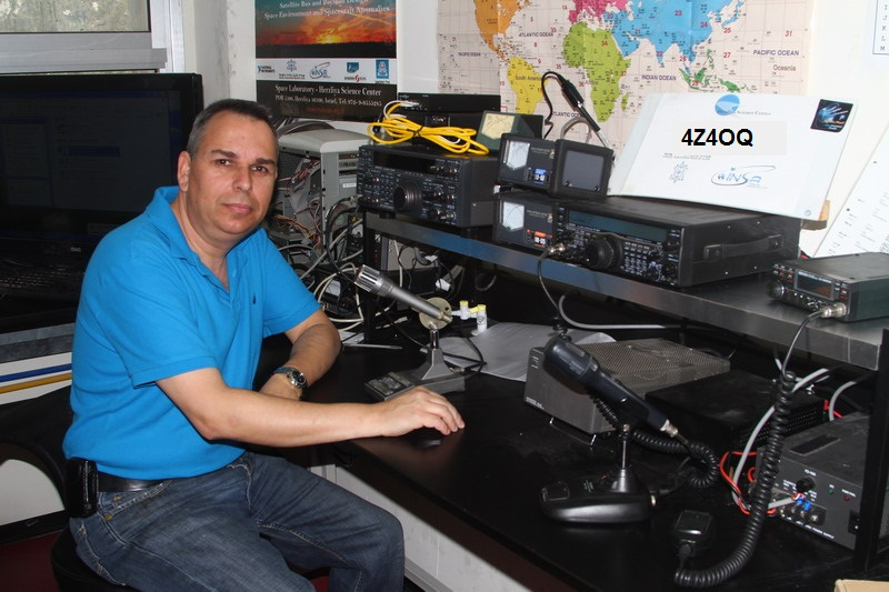 QSL image for 4Z4OQ