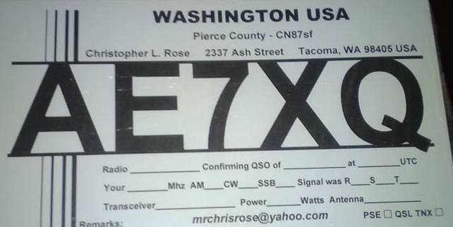 QSL image for AE7XQ