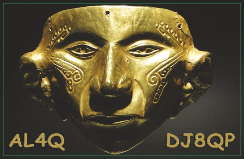 QSL image for AL4Q