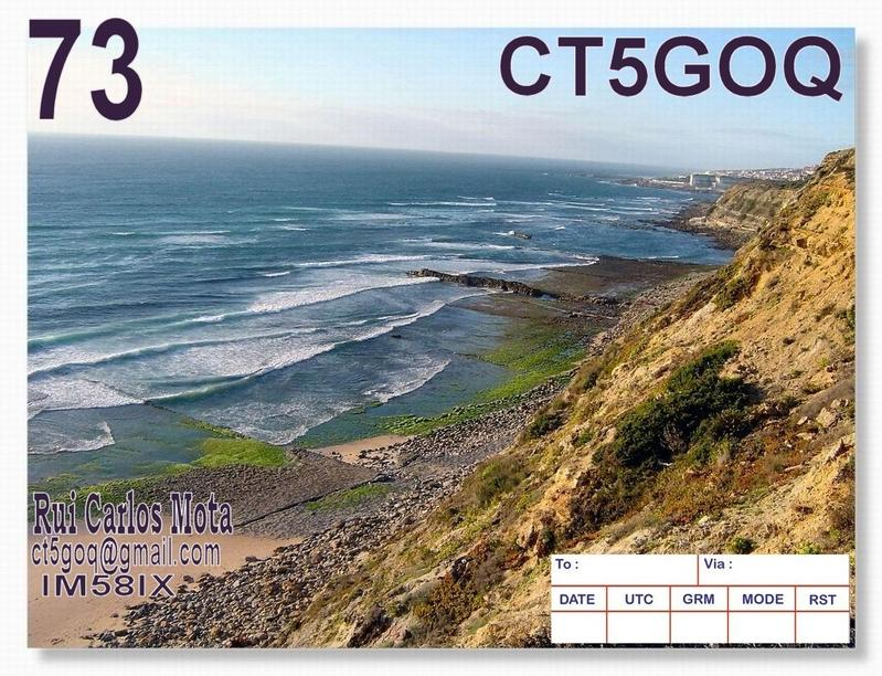 QSL image for CT5GOQ