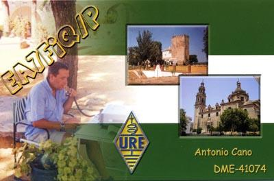 QSL image for EA7FIQ