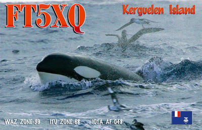 QSL image for FT5XQ