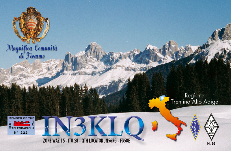 QSL image for IN3KLQ