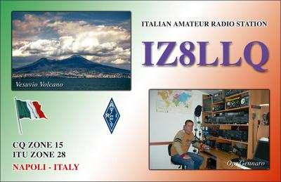 QSL image for IZ8LLQ
