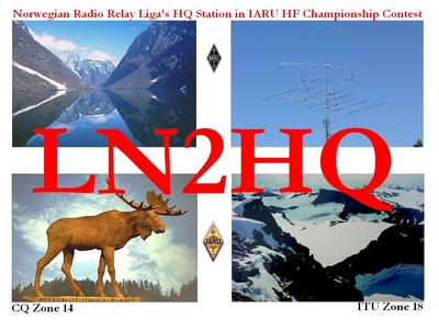 QSL image for LN2HQ