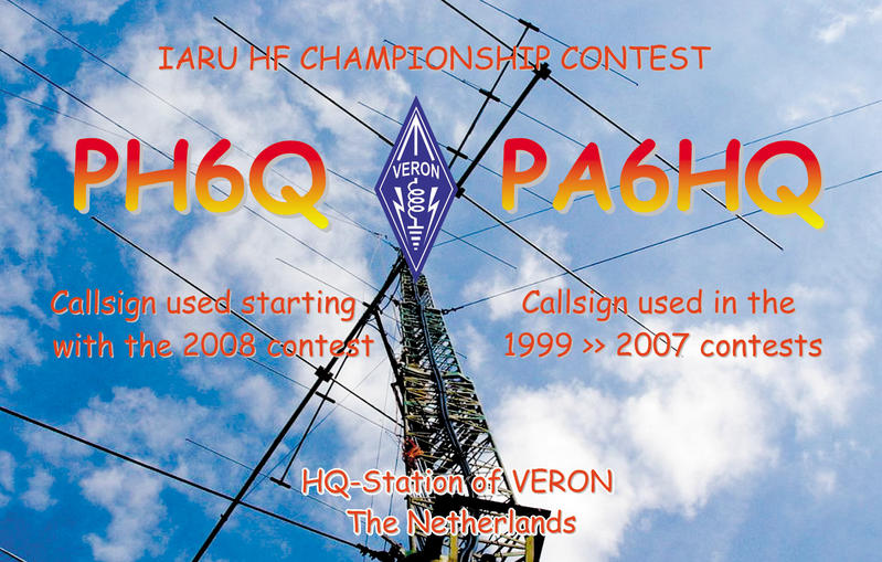 QSL image for PA6HQ