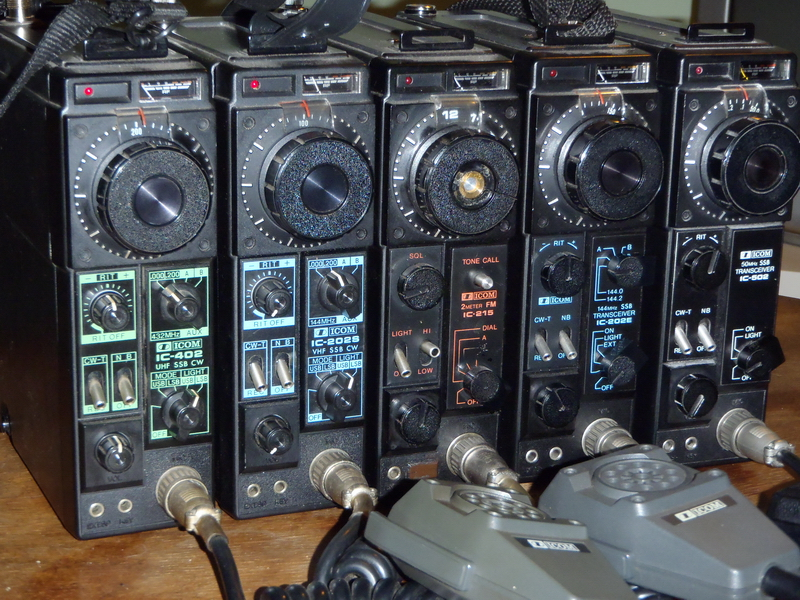 My Icom 202/215/402/502 Collection
