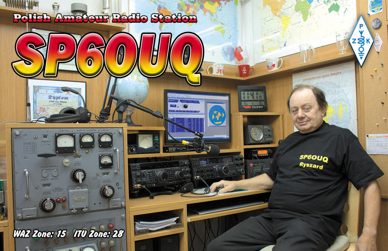 QSL image for SP6OUQ