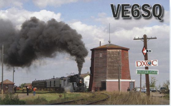QSL image for VE6SQ