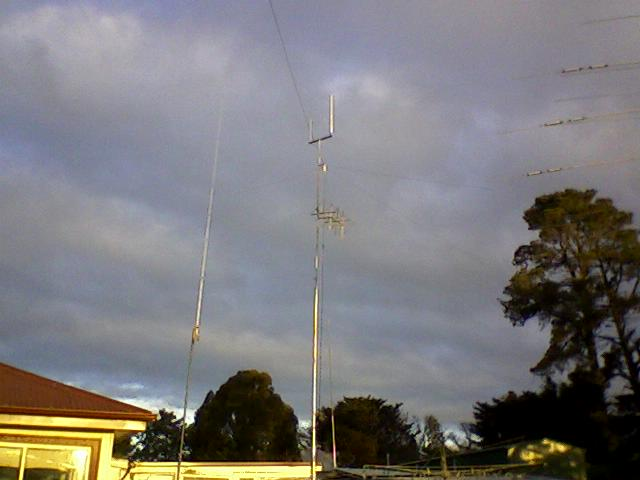 MAST WITH QUAD & 2 -70 CM VERTICAL