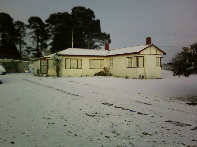 our home in the winter season