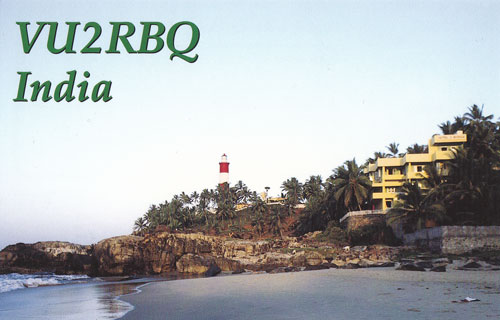 QSL image for VU2RBQ