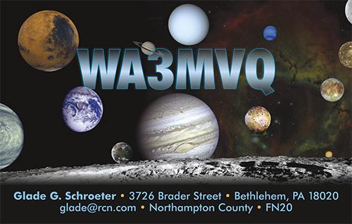 QSL image for WA3MVQ