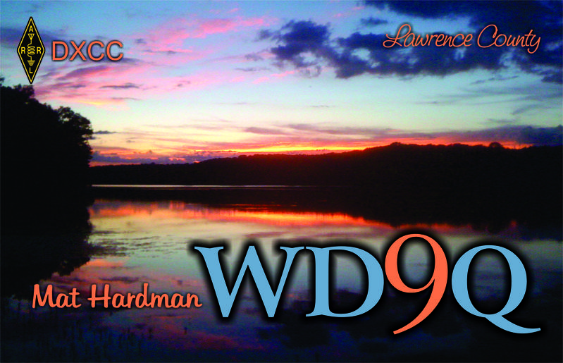QSL image for WD9Q
