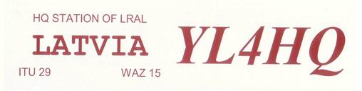 QSL image for YL4HQ