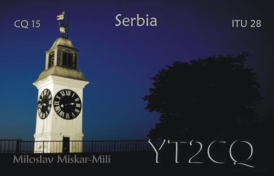 QSL image for YT2CQ