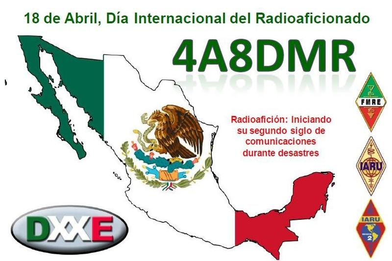 QSL image for 4A8DMR
